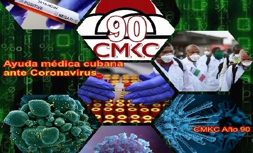 Médicos cubanos ayudan a varios países ante coronavirus