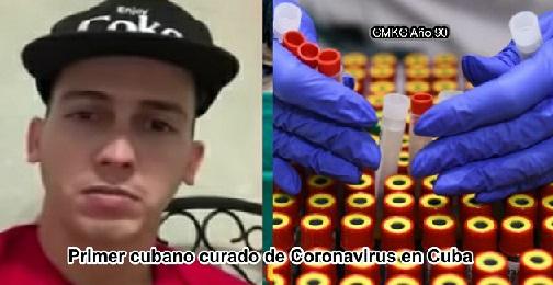 Primer cubano curado de Coronavirus en Cuba