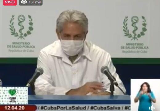 Rueda de Prensa sobre la expansión y lucha contra el covid-19 en Cuba y el mundo. Habla Francisco Durand, jefe de epidemiología en Cuba