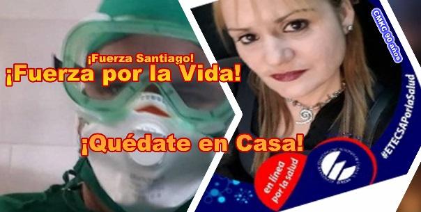 ¡Fuerza Santiago y Quédate en Casa!, sugieren dos santiagueros.