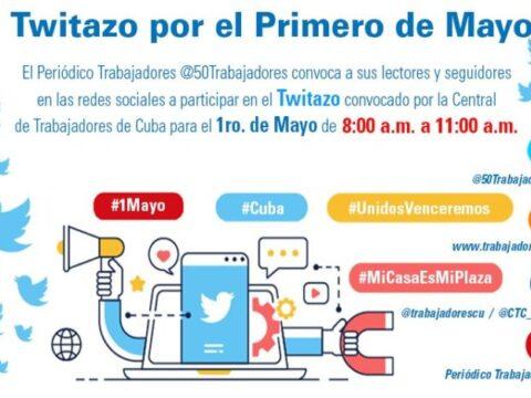 Convocatoria a Twitazo por el Primero de Mayo
