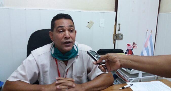 Ricardo Loret, director general de la fábrica de aceite
