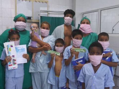 Pacientes de la COVID-19