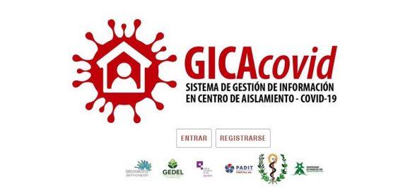GICAcovid, aplicación web sobre centros de aislamiento