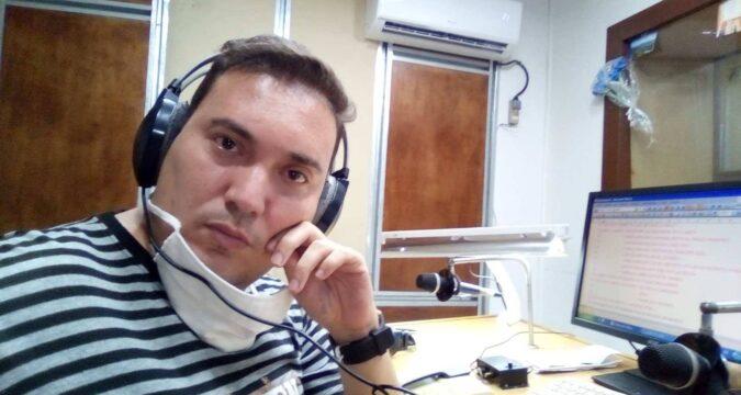 Jorge Luis maestro y locutor