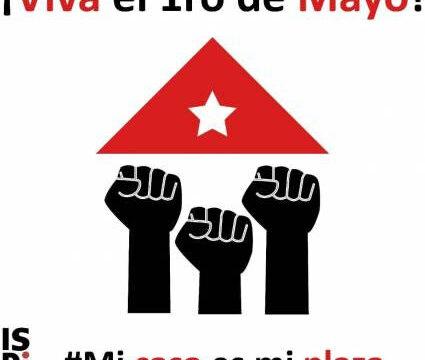 Mi Casa es mi Plaza, reafirman los trabajadores cubanos ante momento excepcional de lucha por la salud contra el nuevo coronavirus.