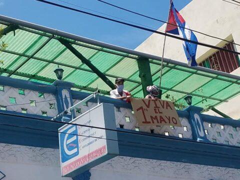 Pueblo santiaguero en 1ro de mayo