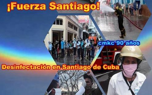 Masiva acción sanitaria en centros públicos en Santiago de Cuba