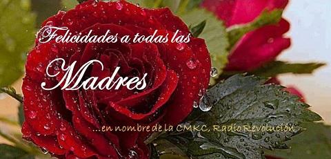 Postal de CMKC, Radio Revolución, por el Día de las Madres. Imagen: Santiago Romero Chang.