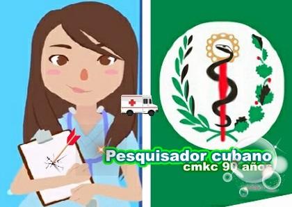 Pesquisador virtual contra la covid-19 en Santiago de Cuba
