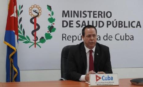 Intervención del Ministro de Salud Pública