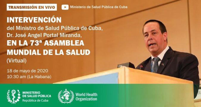 Ministro de Salud Pública de Cuba