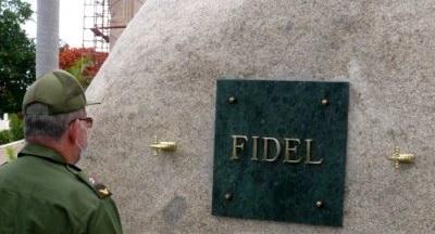 Tributo eterno a Fidel al calor de las acciones de conservación del cementerio Santa Ifigenia de Santiago de Cu
