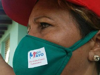 Federada de Mayarí Arriba convida a usar correctamente el nasobuco y no salir de casa