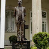 José Martí en la embajada de Washington DC.