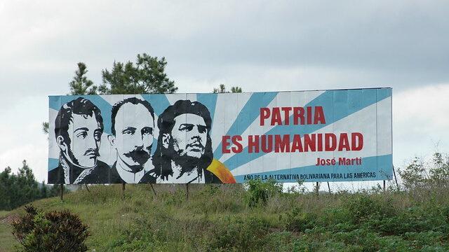 Patria es humanidad