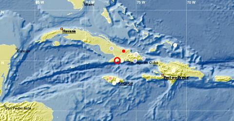 Segundo sismo perceptible en la tardel 17 de mayo 2020.