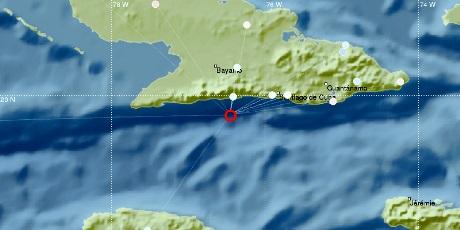 Sismo de 4,6 grados perceptible en el sur de Cuba