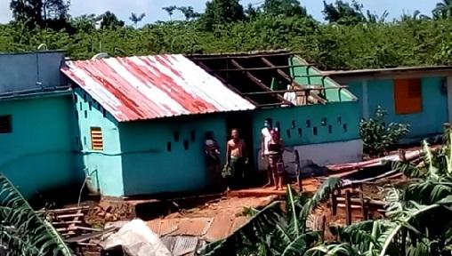 Tornado sacude a Maisí, provincia vecina de Guantánamo.