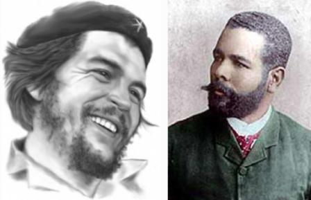 Dos Héroes, Maceo y Che, en diferentes épocas y en un mismo objetivo.