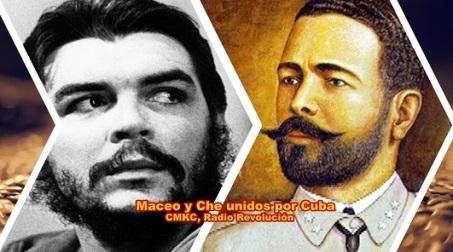 Maceo y Che, Dos héroes en la raíz del carácter cubano