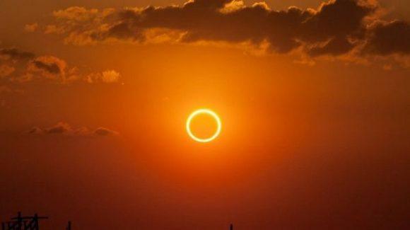Eclipse solar, fenómeno astronómico.