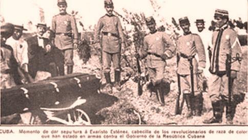 Evaristo Estenoz, mártir de los Independientes de Color asesinado en el oriente cubano.