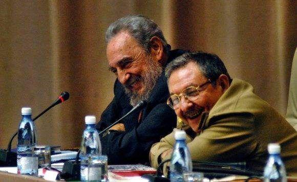 Fidel y Raúl, en la lucha revolucionaria.