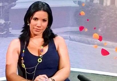La locutora y actriz santiaguera Yenissel Castellanos Galán.