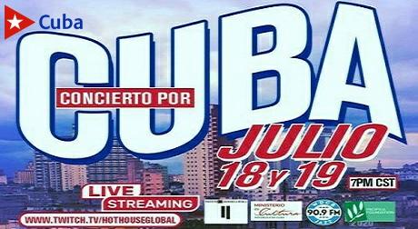 Concierto para Cuba, iniciativa del Hot House de Chicago en apoyo a los médicos cubanos