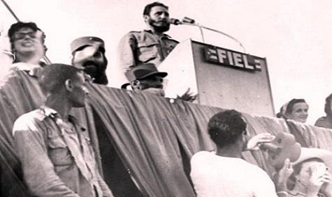 26 de Julio 1960: Más de un millón de cubanos en la Sierra Maestra con Fidel