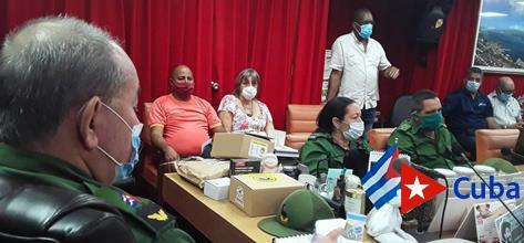 Atento Consejo de Defensa Provincial ante huracán Isaías, categoría 1
