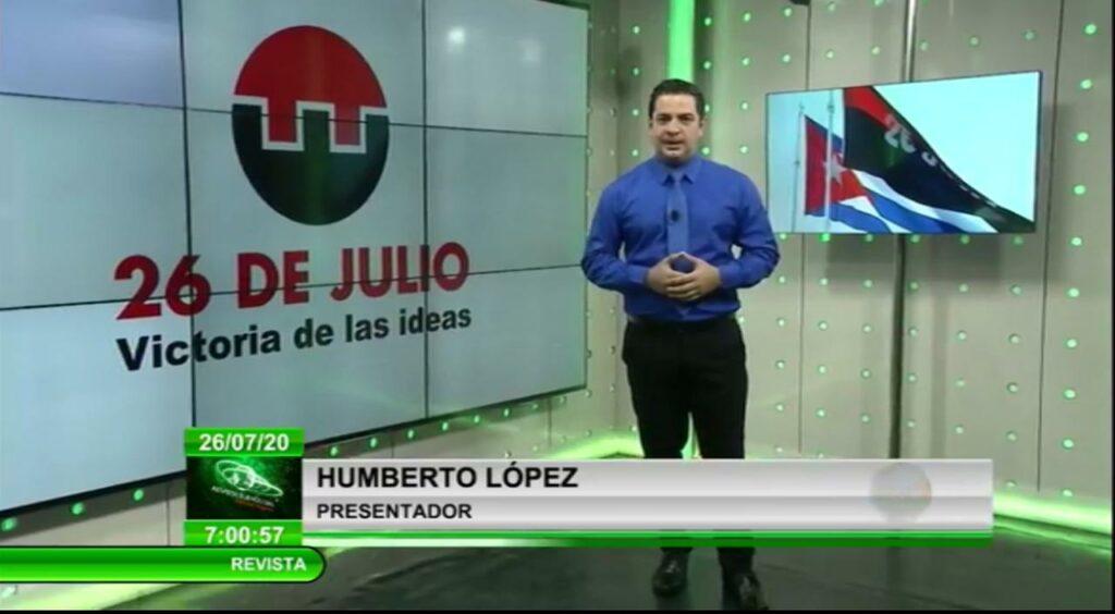 Emisión especial, Cubavisión por el 26 de Julio