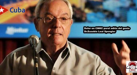 Dolor en CMKC por la muerte del genio Eusebio Leal Spengler
