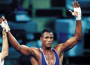Boxeador Felix Savón de Guantánamo, Cuba.