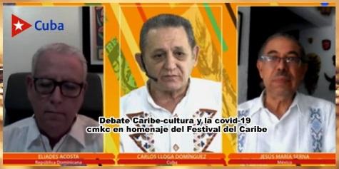 Desde Santiago de Cuba: Debate- Caribe, Cultura y Covid-19