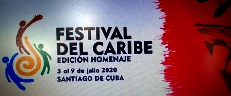 Festival del Caribe en Santiago de Cuba, edición homenaje post covid-19. reconoce a Lázaro Expósito, primer secretario del PCC en la provincia.