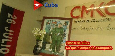 CMKC, Radio Revolución, la que siempre te acompaña. Foto: Santiago Romero Chang.