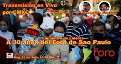 Díaz Canel hoy en Foro virtual proactivo ante el fracaso neoliberal