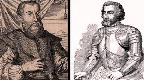 Santiago 505: Hernán Cortés y Diego Velázquez