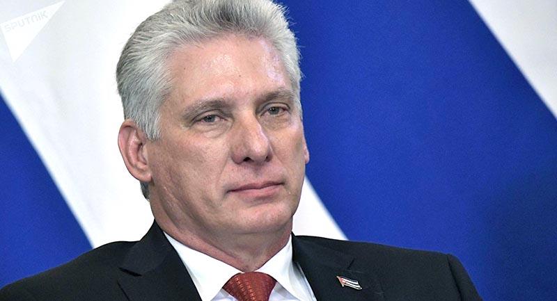 Miguel Díaz Canel Presidente de la República de Cuba