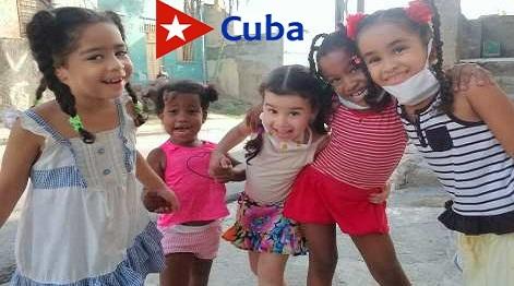 Alegría infantil post covid-19 en Santiago de Cuba