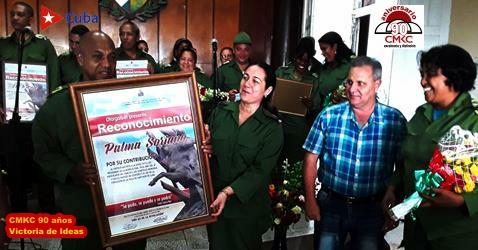 Actividades centrales en el municipio Palma Soriano por los 67 años de la gesta del Moncada. CMKC. Radio Revolución.