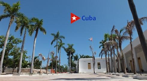 Parque Museo Abel Santamaría Cuadrado, en restauración en Santiago de Cuba. Foto: Santiago Romero Chang.