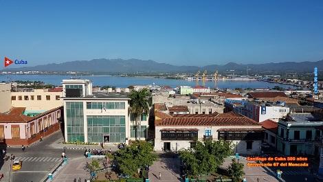 Centro histórico de la ciudad de Santiago de Cuba visto por el autor de esta serie de fotorreportajes.