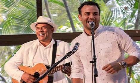 Septeto Santiaguero y JG coinciden en concierto en el Café Cantante del teatro Heredia.