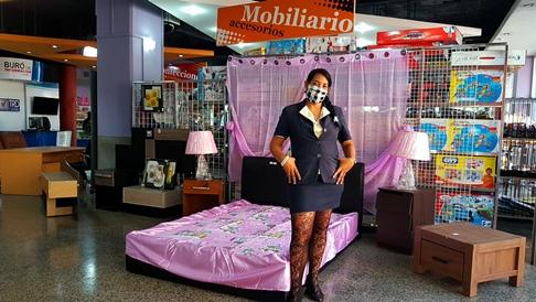 Respeto, Elegancia y Seguridad sanitaria en la reapertura de la tienda Plaza de Marte TRD Caribe. Foto: Santiago Romero Chang
