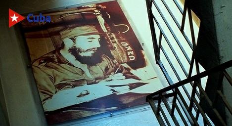 Fidel, periodista mayor y fundador de la UPEC. Foto: Santiago Romero Chang