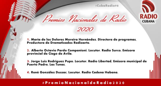 Premio Nacional de radio 2020