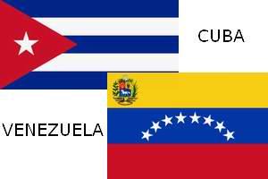флаги Кубы и Венесуэлы